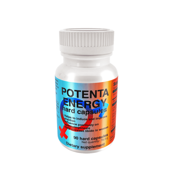 ed supplement Potenta energy